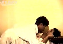 Indian couple is caught by hidden camera having passionate sex