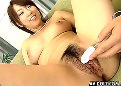 Kinky busty Asian chick loving this kinky action