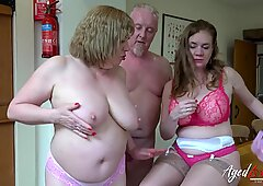AgedLovE Mature Ladies Enjoying Hardcore