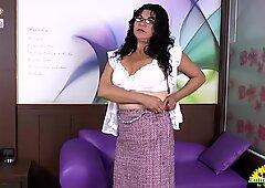 LatinChili Chubby granny Lucia Seductive Showoff
