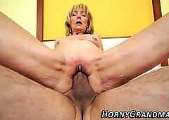 Pussy eaten granny nailed