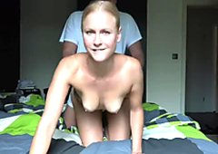 BlondeHexe - Cucki - schau zu wie er mich fickt!