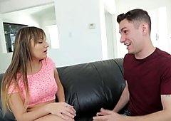 OnlyTeenBlowjobs Loves her Step-Brothers Cock