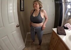 Big tits great ass sporty GILF