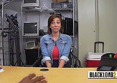 Amateur busty pornstar sucks huge black cock