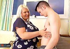 Old granny Sami Brenda and Sam hardcore