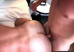 Strong and powerful men Hans and Randy fucking hard