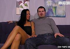 SextapeGermany - Big Tits German MILF Rough SEX On Tape - AmateurEuro